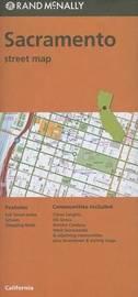 Folded Map Sacramento Streets, CA by Rand McNally