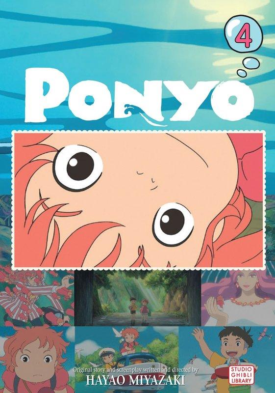 Ponyo Film Comic: v. 4 by Hayao Miyazaki