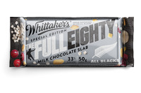 Whittakers: The Full Eighty Milk Chocolate Slab (50g, 50pk)