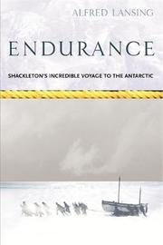Endurance: Shackleton's Incredible Voyage by Alfred Lansing image