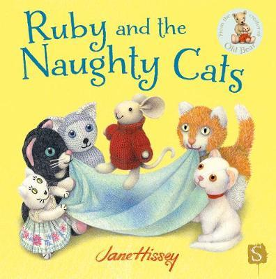 Ruby And The Naughty Cats by Jane Hissey image