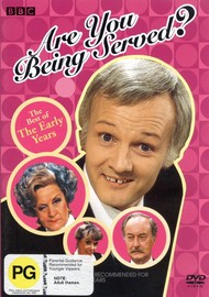 Are You Being Served? - The Best Of The Early Years on DVD image