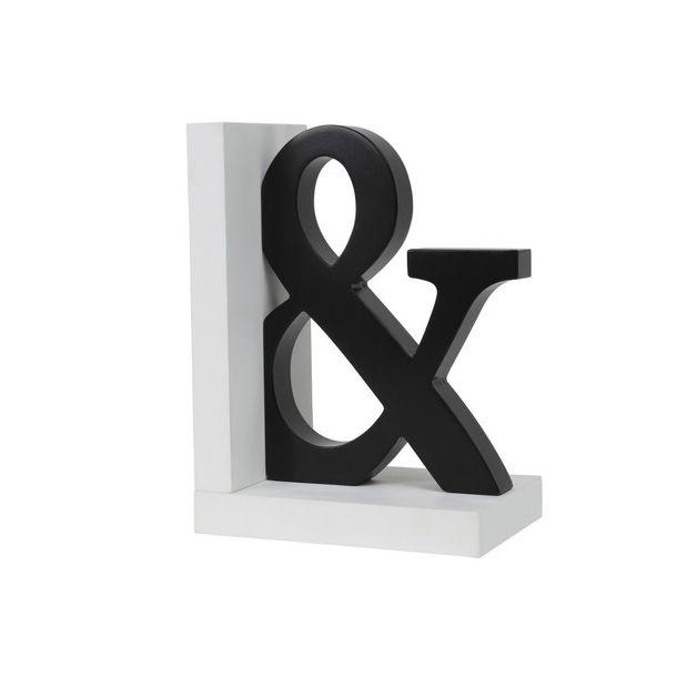 Splosh Markings Ampersand Bookend