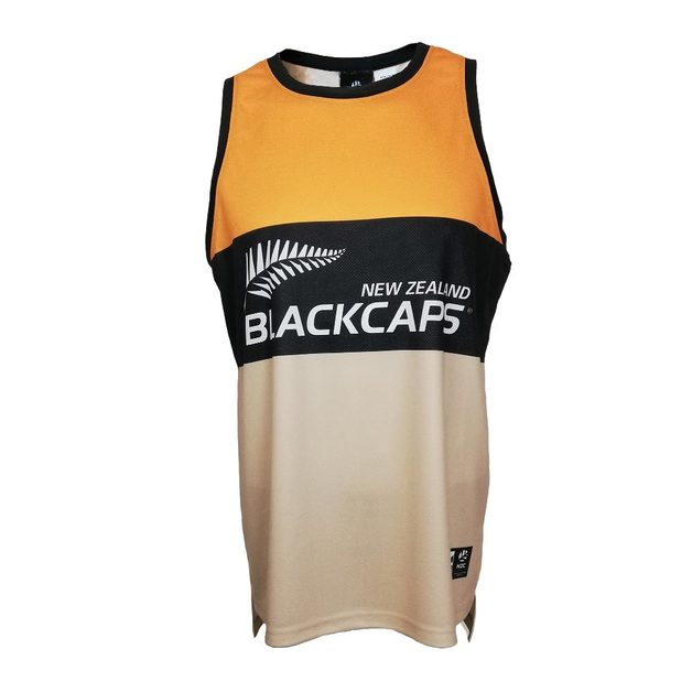 Blackcaps Supporters Singlet (X-Large)