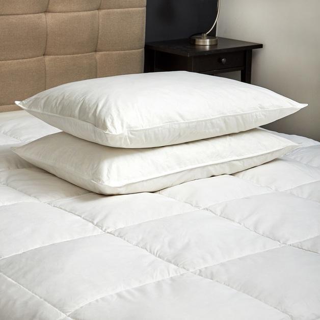 Royal Comfort 1000GSM Goose Pillow Twin Pack