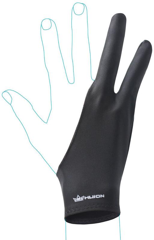 Huion Nylon Artist Drawing Glove