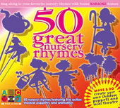 50 Great Nursery Rhymes on DVD