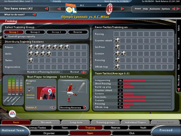 Total Club Manager 2005 for PC Games image