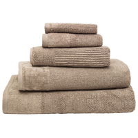 Bambury Costa Cotton Bath Sheet (Mocha)