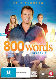800 Words - Season 2 on DVD