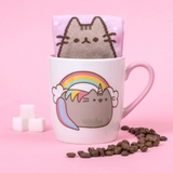 Pusheen the Cat Socks in a Mug - Pusheenicorn