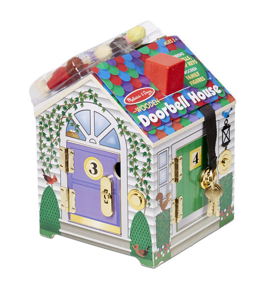 Melissa & Doug: Wooden Doorbell House
