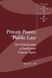 Private Power, Public Law by Susan K. Sell