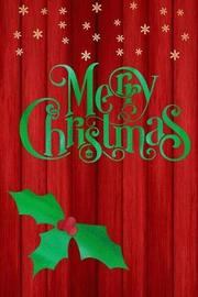 Merry Christmas by Stylesia Holiday Journals image