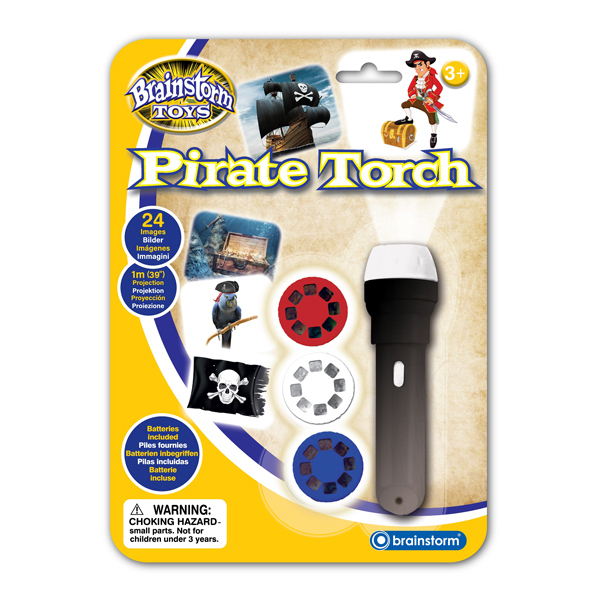 Brainstorm Toys: Pirate Torch & Projector