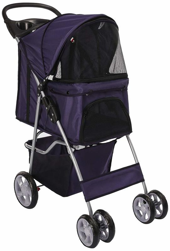 Easy Walk Pet Stroller - Blue