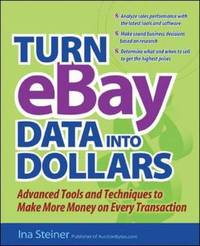 Turn EBay Data into Dollars by Ina Steiner image