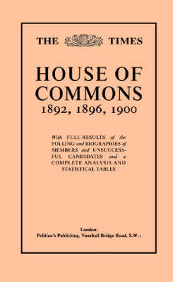 "The ""Times"" Guide to the House of Commons: v. 3 image"