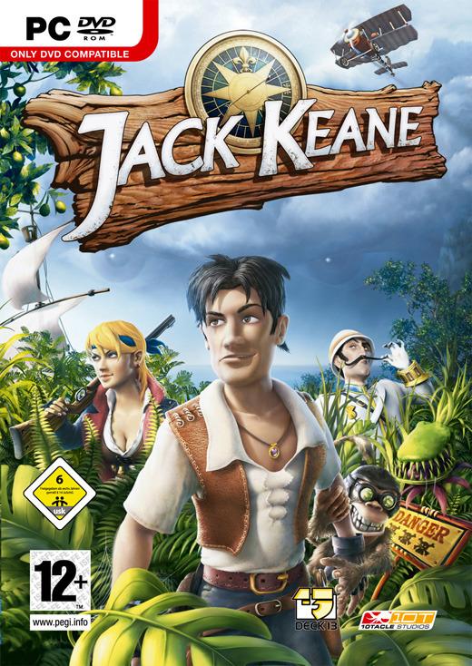 Jack Keane (Jewel case packaging) for PC