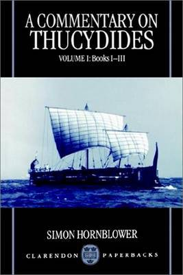 A Commentary on Thucydides: Volume I: Books i-iii by Simon Hornblower image