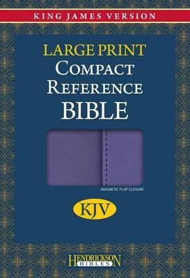 Compact Reference Bible-KJV-Large Print