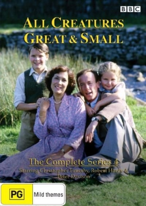All Creatures Great & Small - Complete Series 4 on DVD image