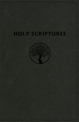 TLV Personal Size Giant Print Reference, Holy Scriptures, Black LeatherTouch