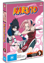 Naruto (Uncut) - Vol. 8: Sharingan Revived on DVD
