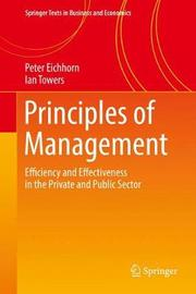 Principles of Management by Peter Eichhorn
