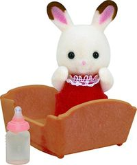 Sylvanian Families: Chocolate Rabbit Baby