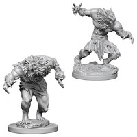 D&D Nolzur's Marvelous: Unpainted Miniatures - Werewolves