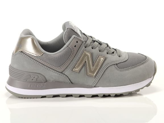 New Balance: Womens 574 Running Shoes - Grey (Size US 6.5)