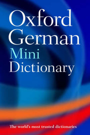 Oxford German Mini Dictionary: German-English, English-German = Deutsch-Englisch, Englisch-Deutsch image