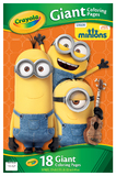 Crayola Giant Minions Coloring Pages
