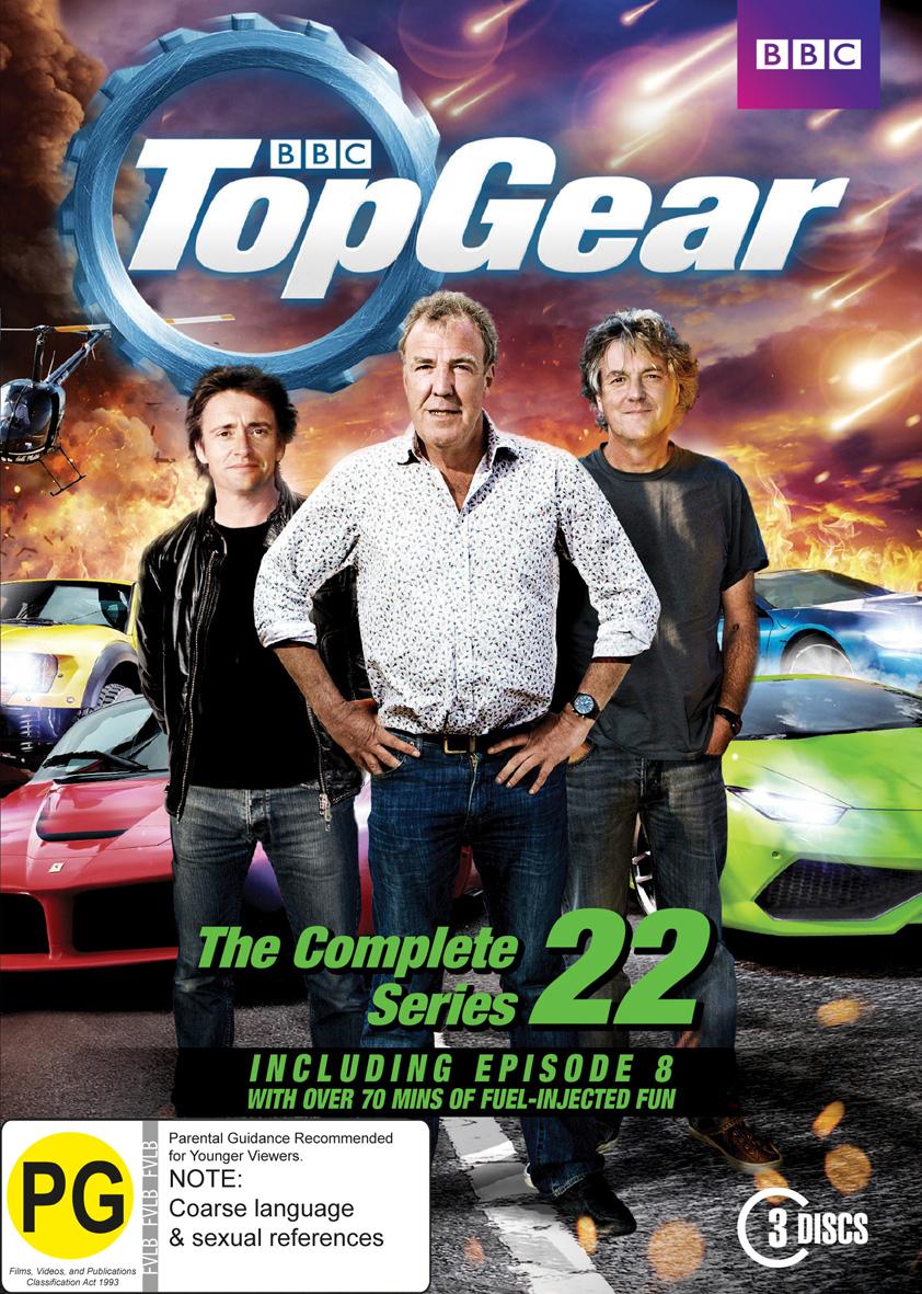 Top Gear: Season 22 on DVD image