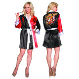 DC Bombshells: Harley Quinn Satin Robe - Previews Exclusive (X-Large)