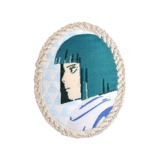 Studio Ghibli Brooch Cameo: Spirited Away Haku