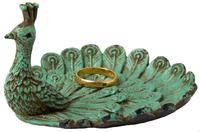 Rustic Boudoir Peacock - Trinket Dish