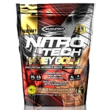 Nitrotech 100% Whey Gold - Double Rich Chocolate 1lb (454g)