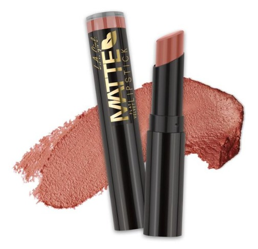 LA Girl Matte Flat Velvet Lip Stick - Snuggle image