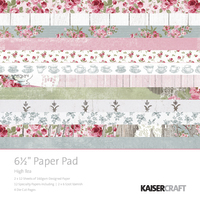 "Kaisercraft 6.5"" Paper Pad (High Tea)"
