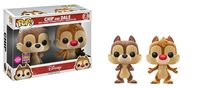 Disney - Chip & Dale (Flocked) Pop! Vinyl 2-Pack (LIMIT - ONE PER CUSTOMER)