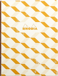 Heritage B5 Raw Bound Notebook Lined - Escher Ivory