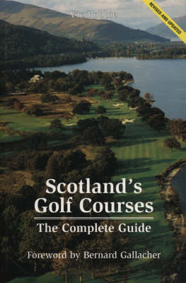 Scotland's Golf Courses by Vic Robbie