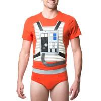 Star Wars Luke Skywalker Underoos Set - Medium