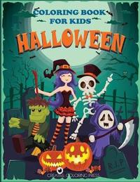 Halloween Coloring Book for Kids by Dp Kids