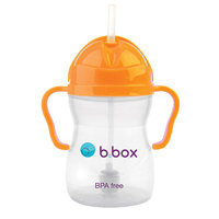 b.box Sippy Cup - Neon Orange Zing