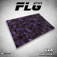 FLG Alien Hive Purple Neoprene Gaming Mat (6x4)