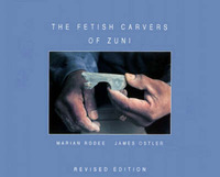 Fetish Carvers of Zuni by Marian E. Rodee image