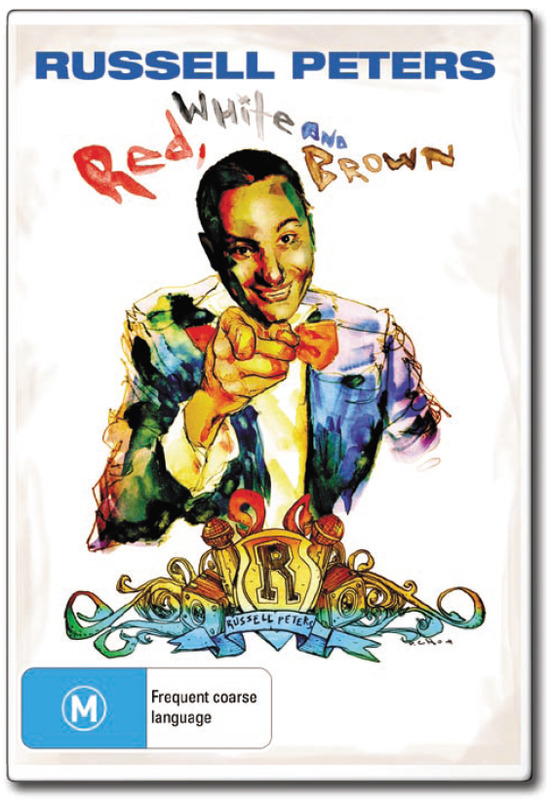 Russell Peters - Red, White and Brown on DVD